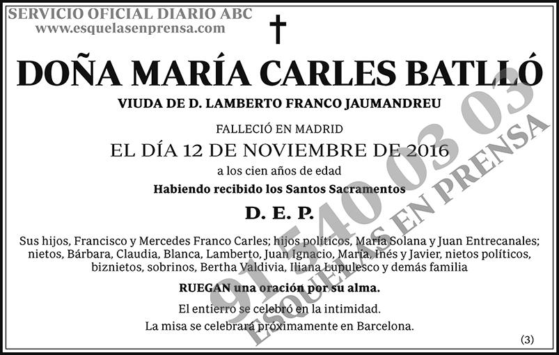 María Carles Batlló